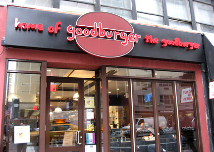 1 00 Burgers At Goodburger In Columbus Circle