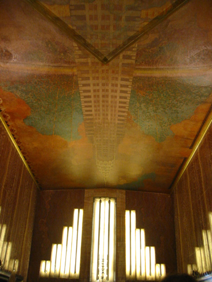 Chrysler Building talk is one of weekend highlights. Saturday, October 6