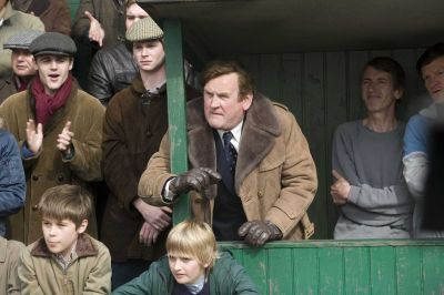 Colm Meaney is eerily good as Leeds legend Don Evie