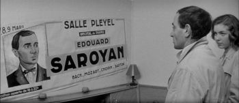 Crooner Charles Aznavour is super-cool in Truffaut classic
