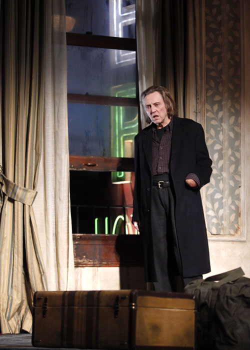 Carmichael (Christopher Walken) has been searching for his hand for forty-seven years in Martin McDonagh play