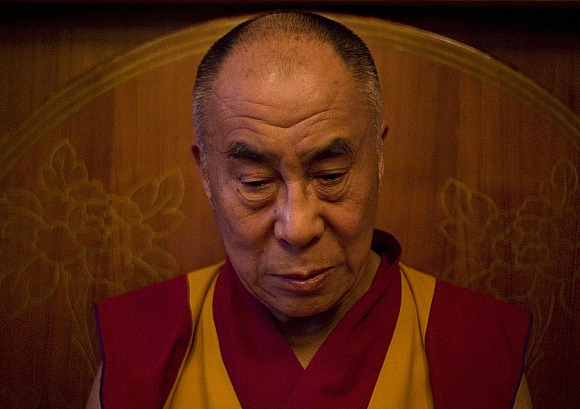 The Dalai Lama is facing growing opposition to his Middle Way Approach (photo by Jaimie Gramston / White Crane Films)