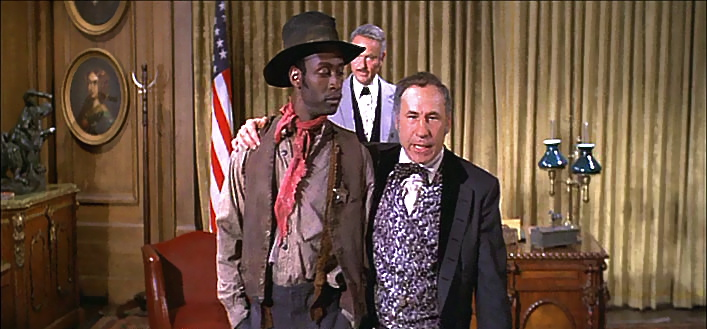 racism in the eye of society in blazing saddles a film by mel brooks And it helps that blazing saddles, a film that pulls no punches on satirizing every race and nationality, was written by several jewish men and richard pryor i'd love to see today's writers try to execute some of brooks's and pryor's jokes.