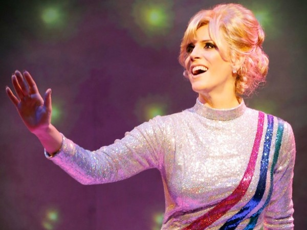 Kirsten Holly Smith has been playing to enthusiastic crowds as Dusty Springfield at New World Stages