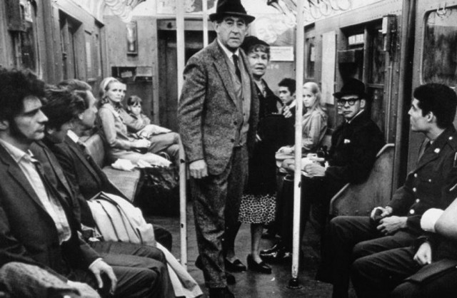 A group of straphangers are terrorized by thugs in Larry Peerce's THE INCIDENT
