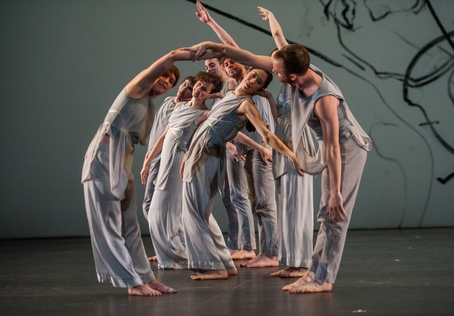 LES YEUX ET L'ÂME is one of two New York premieres by Trisha Brown at BAM (photo by Stephanie Berger)