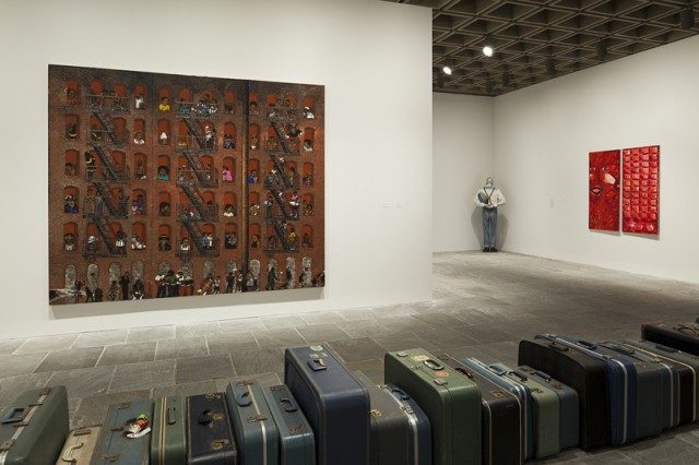 Installation view, Blues for Smoke (photo by Sheldan C. Collins)