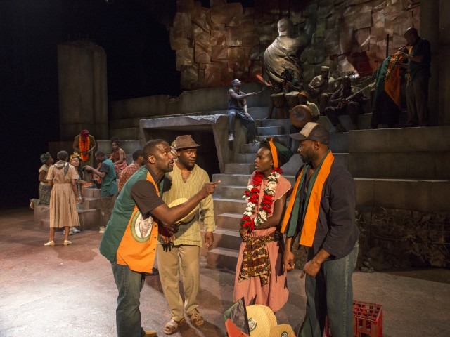 Royal Shakespeare Company sets JULIUS CAESAR in contemporary Africa (photo by Richard Termine)