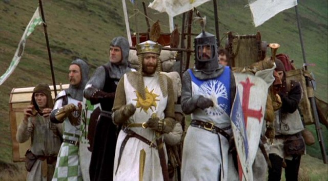 Monty Python fiinds the Holy Grail of comedy in classic flick