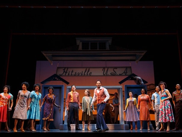 Hitsville, U.S.A. comes to Broadway in new jukebox musical (photo by Joan Marcus)