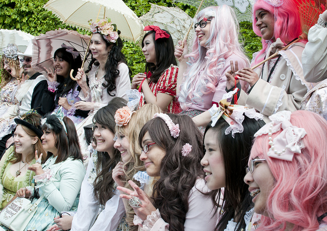 Cosplay is one of the highlights of annual Sakura Matsuri at the Brooklyn Botanic Garden