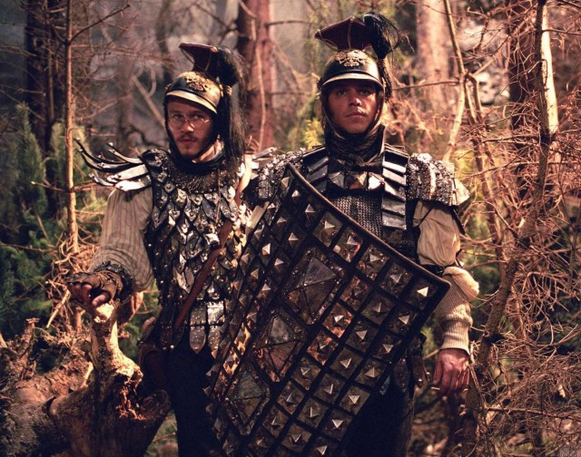 Heath Ledger and Matt Damon star as famous fairy-tale siblings in miserable Terry Gilliam adventure flick