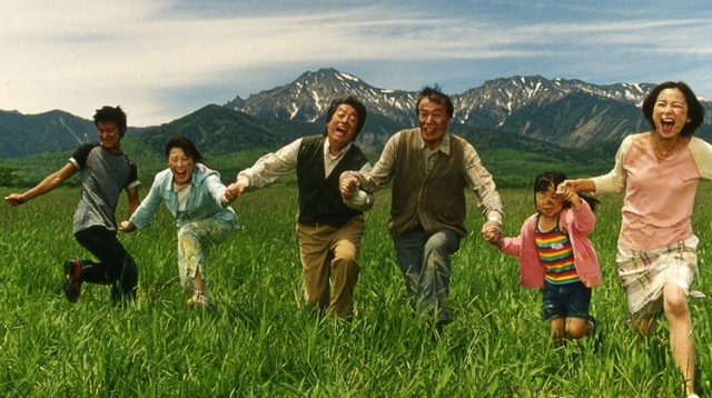 Takashi Miike riffs on multiple genres in the endlessly delightful HAPPINESS OF THE KATAKURIS