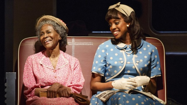 Tony nominees Cicely Tyson and Condola Rashad bond on a bus in Broadway revival of THE TRIP TO BOUNTIFUL