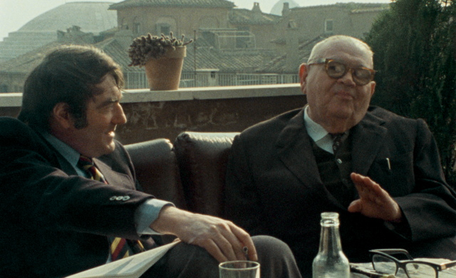 Claude Lanzmann and Benjamin Murmelstein discuss the Holocaust in revealing documentary