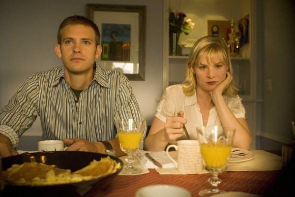 Amy (Melinda Page Hamilton) harbors a dirty little secret in Bobcat Goldthwait film