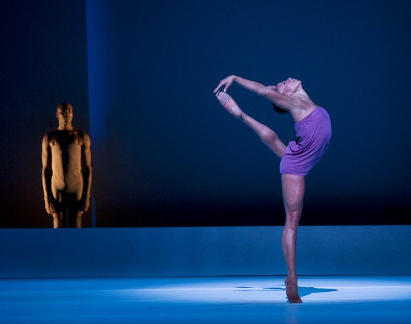 AAADT's Antonio Douthit-Boyd and Linda Celeste Sims perform in Wayne McGregor's CHROMA (photo by Paul Kolnik)