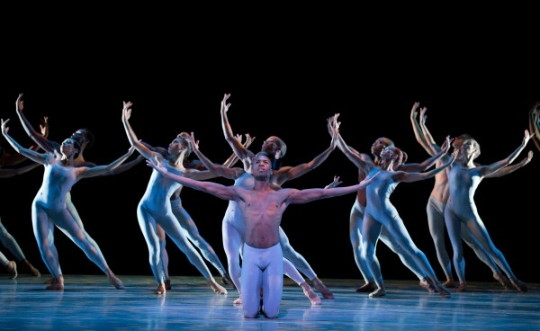 AAADT revisits Alvin Ailey's THE RIVER at City Center (photo by Paul Kolnik)