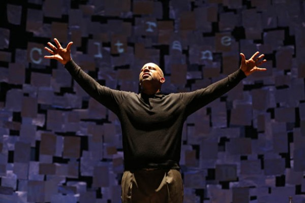 HOW I LEARNED WHAT I LEARNED celebrates the genius of August Wilson (photo by Joan Marcus)