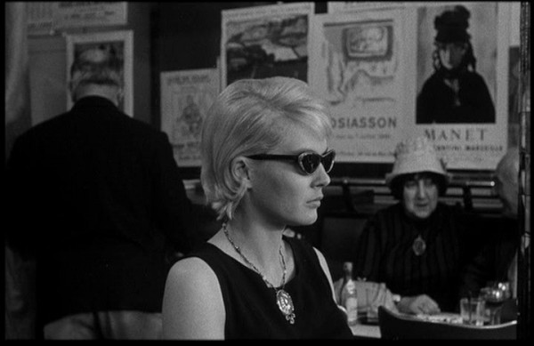 Cléo (Corinne Marchand) looks back at her life in Agnès Varda's Nouvelle Vague classic