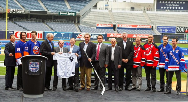 The Rangers, Islanders, and Devils take their heated rivalries to the freezing Bronx for NHL Stadium Series