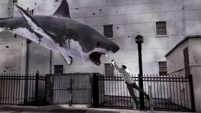SHARKNADO will wreak havoc in Brooklyn Bridge Park on July 17