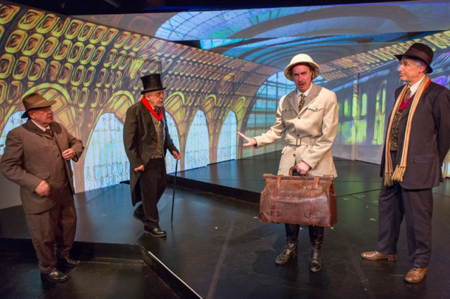 Stage projections are only highlight of flat Mint revival (photo by Richard Termine)