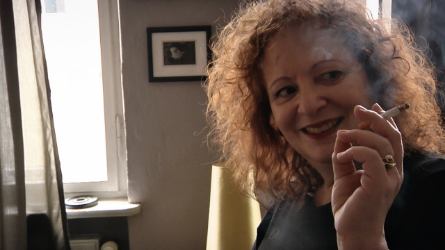 Seminal photographer Nan Goldin talks about life, love, and art, with ever-present cigarette