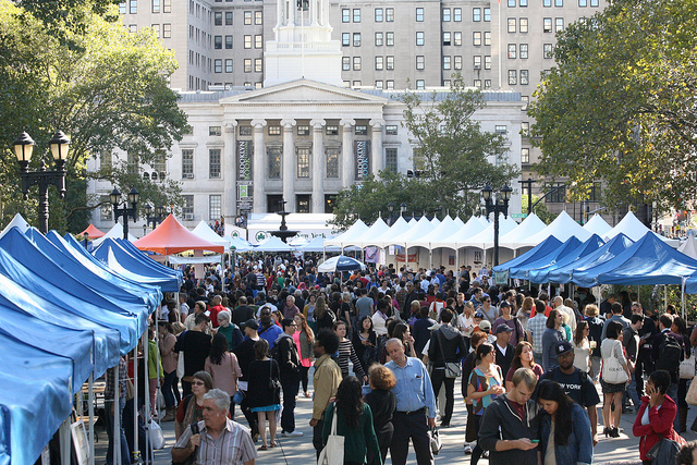 Thousands of writers and readers will gather in Brooklyn for annual book festival on Sunday (photo courtesy of Brooklyn Book Festival)