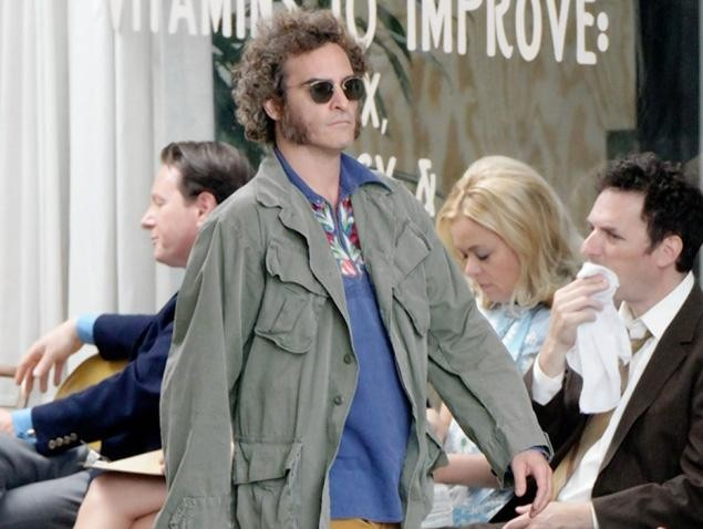 Joaquin Phoenix stars in New York Film Festival Centerpiece, Paul Thomas Anderson's adaptation of Thomas Pynchon's INHERENT VICE