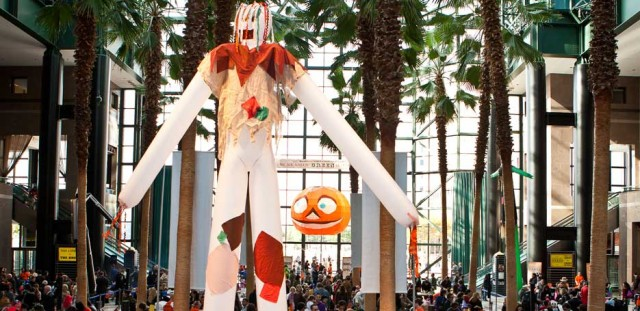 The Brookfield Place Winter Garden will transform into a Halloween palace on October 26 for free festival