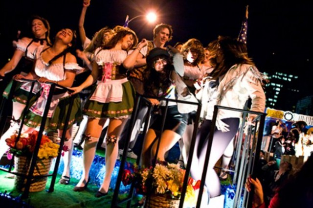 It'll be party time Friday night at the forty-first annual Village Halloween Parade