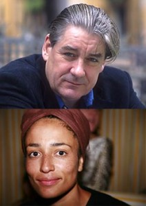 Writers Patrick McGrath (photo by Basso Cannarsa) and Zadie Smith (photo by Steve Bisgrove) will discuss literature and film at the Morgan
