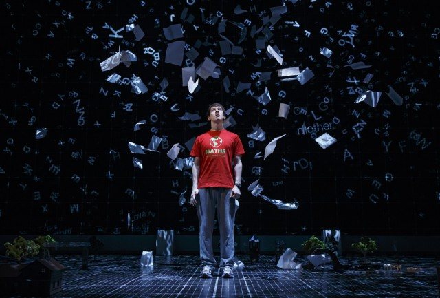 CURIOUS INCIDENT star Alex Sharp will be at the National Museum of Mathematics on December 8 to talk about math's role in play (photo by Joan Marcus)