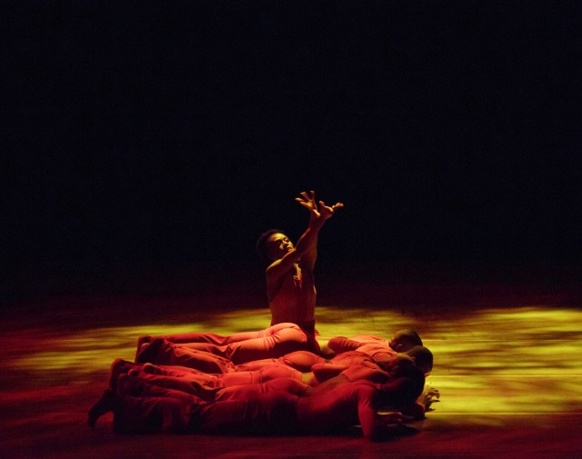 Robert Moses's THE PLEASURE OF THE LESSON will makes its Ailey company premiere at City Center (photo by Paul Kolnik)
