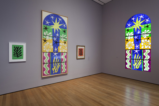this week in new york installation view ldquohenri matisse the cut outs rdquo from