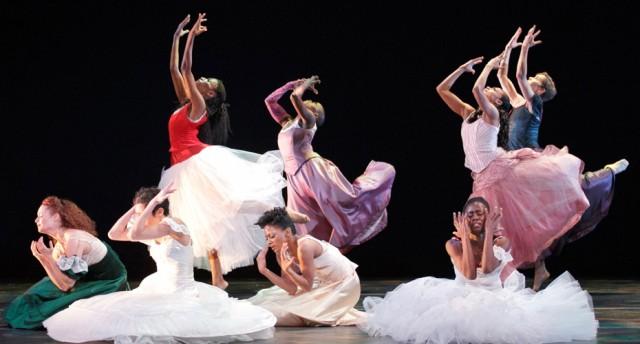 The Ailey women (photo by Paul Kolnik)