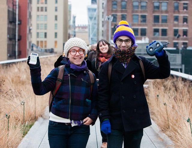 Free smartphone app turns High Line walk into an audio adventure