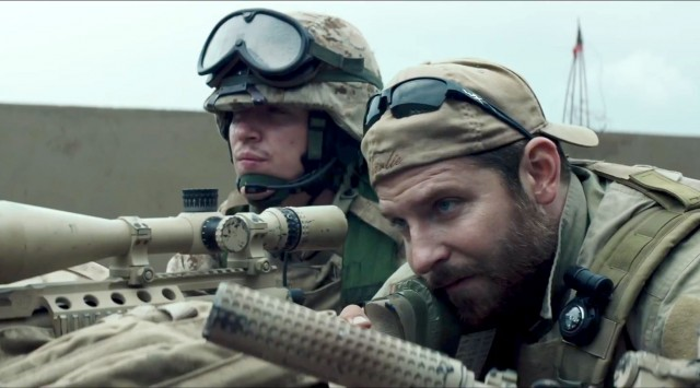 Bradley Cooper takes aim in AMERICAN SNIPER