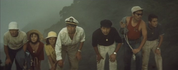 Sherwood Schwartz must have seen MATANGO before creating GILLIGANS ISLAND