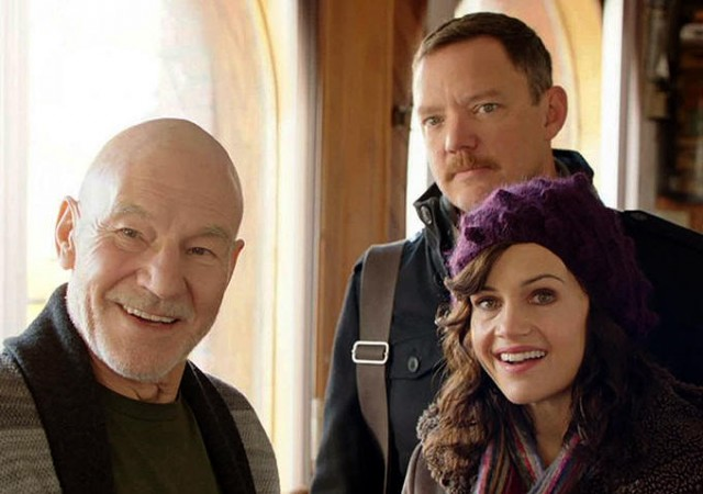 Patrick Stewart, Matthew Lillard, and Carla Gugino star in Stephen Belbers MATCH