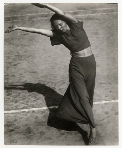 Engaging documentary pays tribute to the life and legacy of Martha Hill, seen here dancing at Bennington in 1938 (photo by Thomas Bouchard)