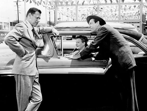 Tony Randall stars as a used car salesman in 1957 Martin Ritt black-and-white CinemaScope tale