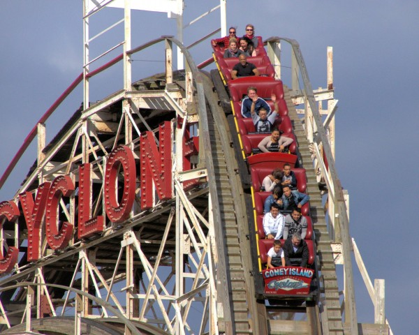 First one hundred visitors will get a free ride on the Cyclone on Luna Park opening day