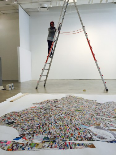 """Jennifer Maravillas, whose ongoing """"71 Square Miles"""" project is part of """"Mapping Brooklyn"""" exhibition, will be at BRIC for Stoop Series talk on March 3"""