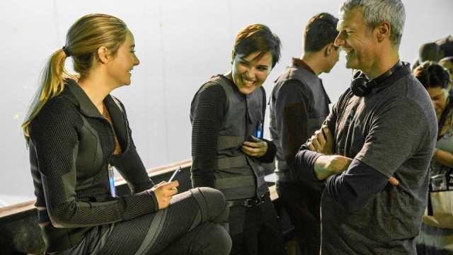 Veronica Roth, seen here on the set of DIVERGENT, will be in town to celebrate the release of INSURGENT (AP Photo/Summit Entertainment, Jaap Buitendijk)