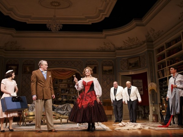 Theres not much to toast to in tepid romantic farce (photo by Joan Marcus