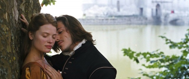 Marie de Mézières (Mélanie Thierry) and Henri de Guise (Gaspard Ulliel) have trouble keeping their hands off each other in Bertrand Tavernier's sweeping romantic epic