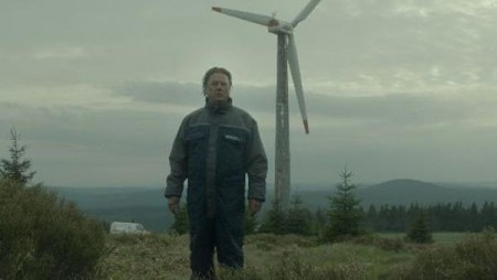 Peter Kurth stars as a man chasing a different kind of windmill in SCHMITKE