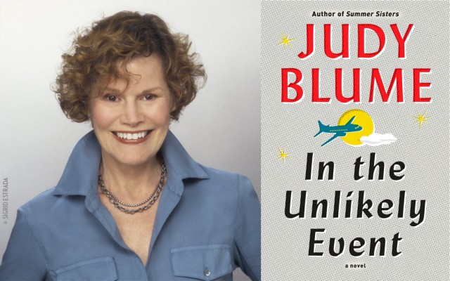 Judy Blume will be at BEA with her new adult novel, IN THE UNLIKELY EVENT